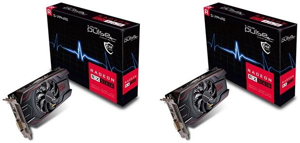 Видеокарты Sapphire Pulse Radeon RX 560 2GD5 и Pulse Radeon RX 560 4GD5