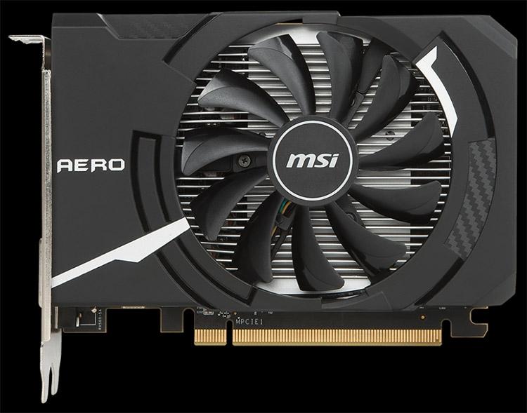 MSI Radeon RX 560 Aero ITX 4G OC