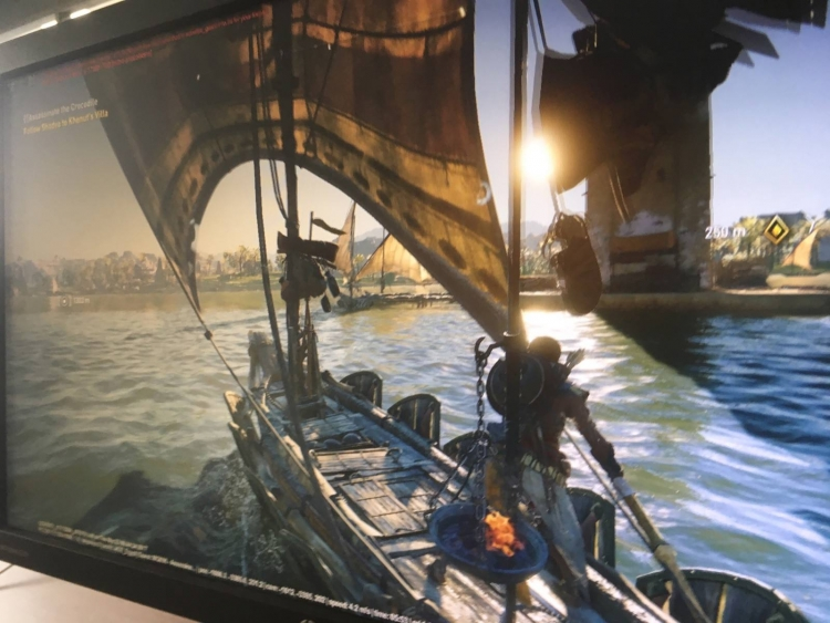 Всеть утек снимок экрана Assassin's Creed: Origins