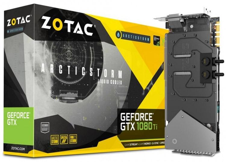Swiftech выпустила пару водоблоков полного покрытия для референсных GeForce GTX 1080 Ti