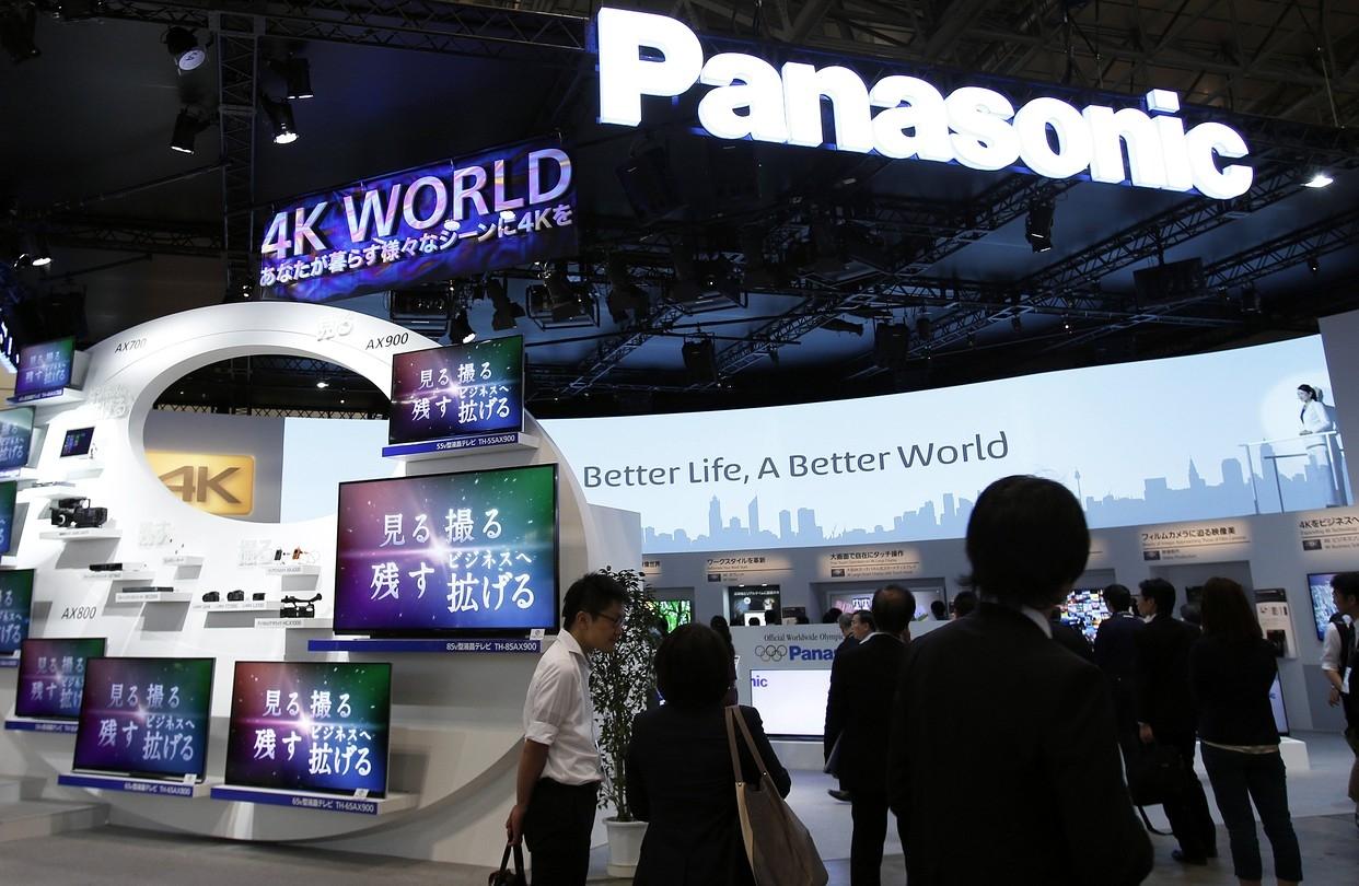 Прибыль Panasonic упала на 10% из-за сильной иены