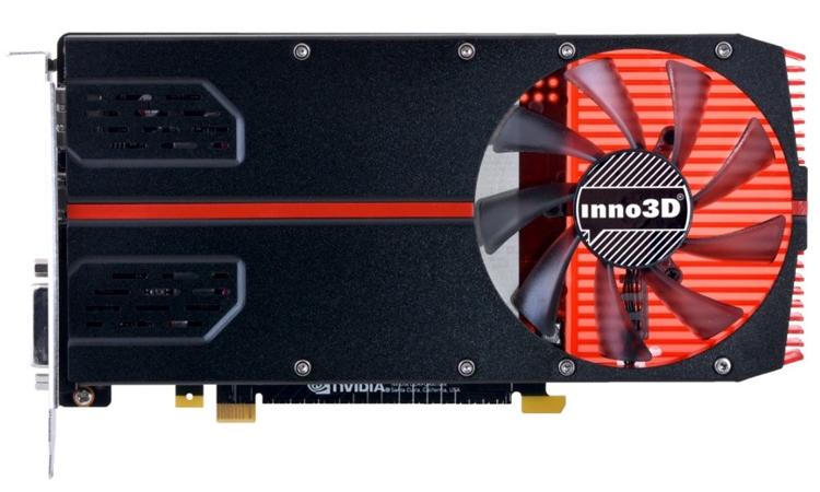 Новый ускоритель Inno3D GeForce GTX 1050 Ti имеет однослотовое исполнение