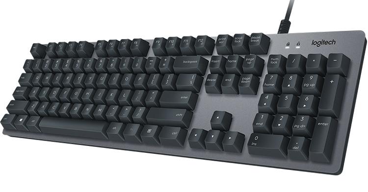 Logitech K840: механическая клавиатура для набора текстов