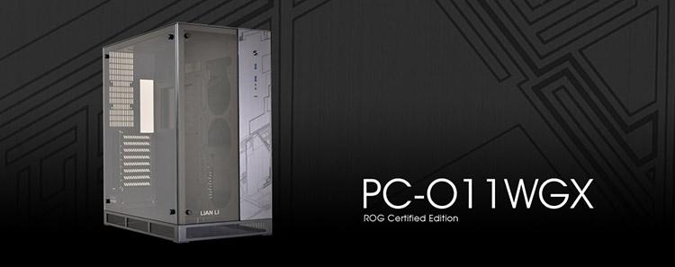 Новый корпус Lian Li PC-O11WGX получил сертификат ASUS ROG