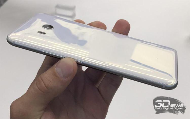 Смартфон HTC U11 выйдет в 5-ти различных цветах