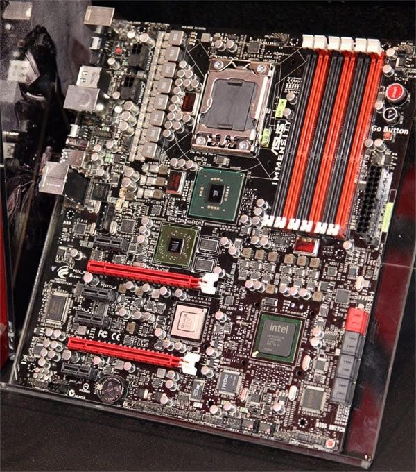 Прототип матплаты ASUS Immensity из 2010-го: компанию Core i7 составило ядро Radeon HD 5450