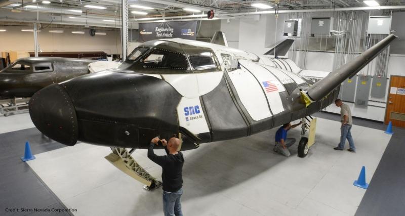 Сборка ракетоплана Dream Chaser. Фото Sierra Nevada Corp.