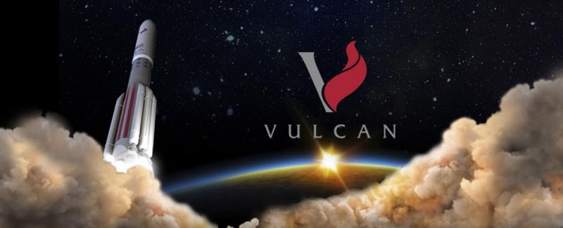 Эмблема программы разработки перспективного носителя Vulcan. Графика ULA