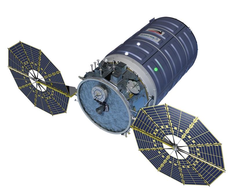 Грузовой корабль Cygnus. Графика Orbital ATK