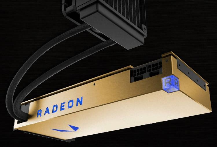 Radeon Vega FE с СЖО