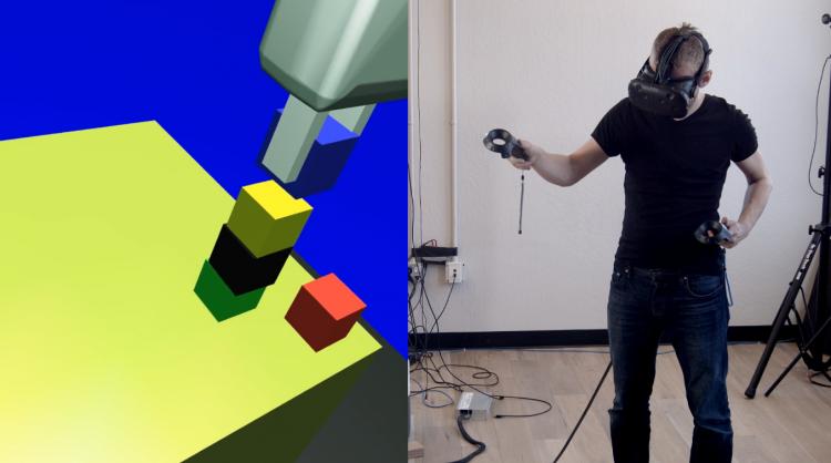 """Алгоритм OpenAI позволяет обучить робота действию за одну демонстрацию"""""""