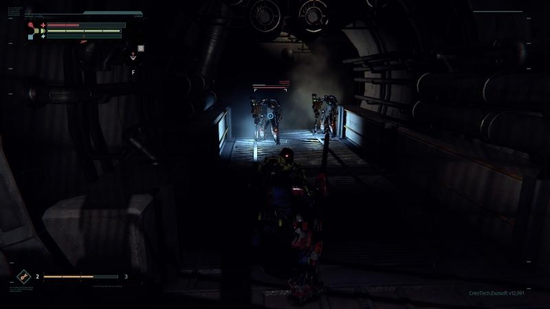 Иногда атмосфера окутывает нотками хоррора в духе Dead Space
