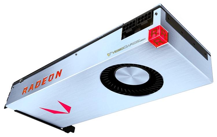 Radeon RX Vega может выглядеть, например, так (коллаж VideoCardz.com)