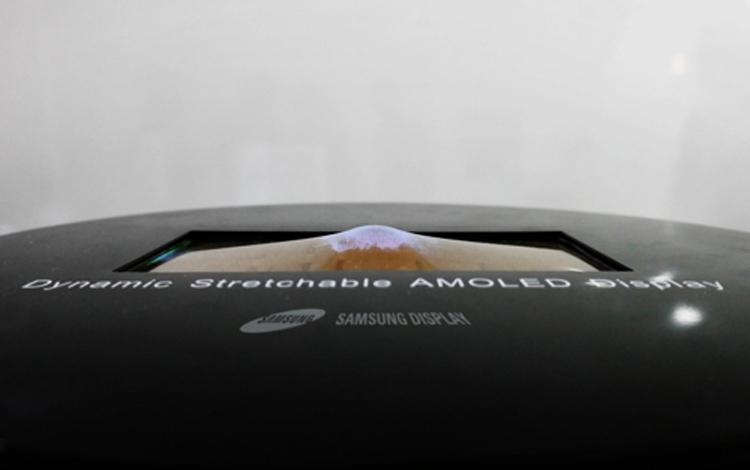 Samsung покажет первый в мире растягиваемый дисплей