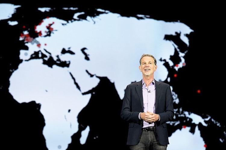 Исполнительный директор Netflix Рид Хастингс (Reed Hastings) говорит о том, что основной рост подписчиков наблюдается за пределами США