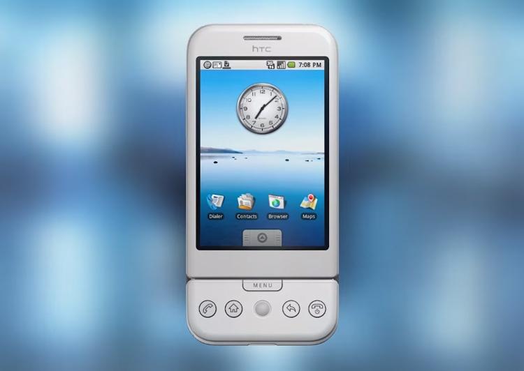 HTC Dream (он же T-Mobile G1) стал первым Android-смартфоном на рынке