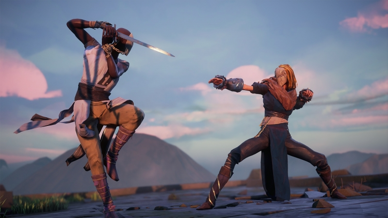 Absolver — один из многих интригующих проектов от Devolver Digital