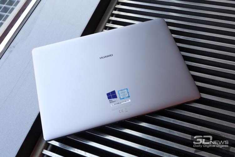 Huawei выпустила полноразмерный ноутбук MateBook D