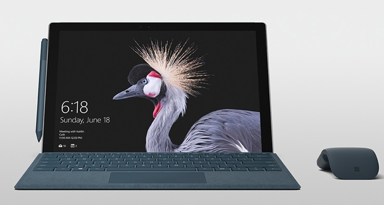 """Microsoft официально анонсировала пятое поколение Surface Pro"""""""