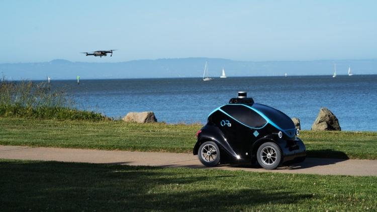 Автономный робот-охранник Otsaw O-R3 оснащён дроном для обнаружения злоумышленников - «Новости сети»