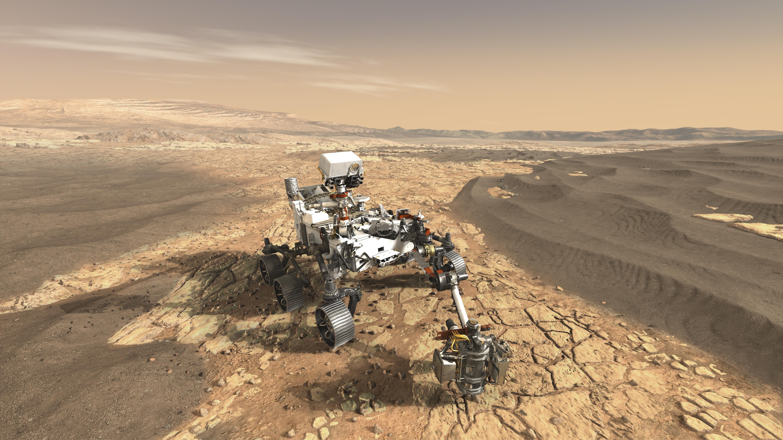 Фото дня: концепция планетохода Mars 2020 Rover - «Новости сети»