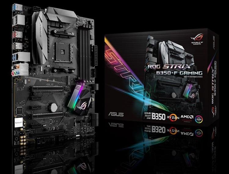 ASUS ROG Strix B350-F Gaming: плата с поддержкой процессоров AMD Ryzen - «Новости сети»