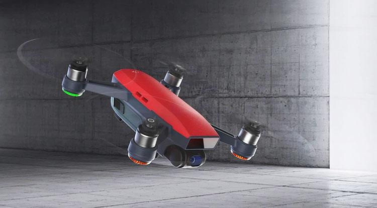 Spark— самый общедоступный, компактный иинтеллектуальный дрон DJI