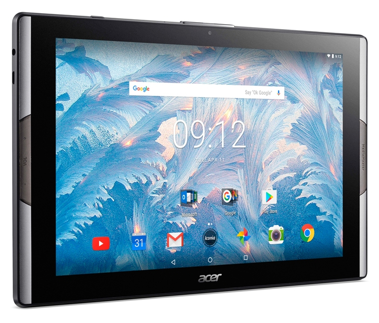 Acer оснастила планшет Iconia Tab 10 дисплеем с технологией Quantum Dot