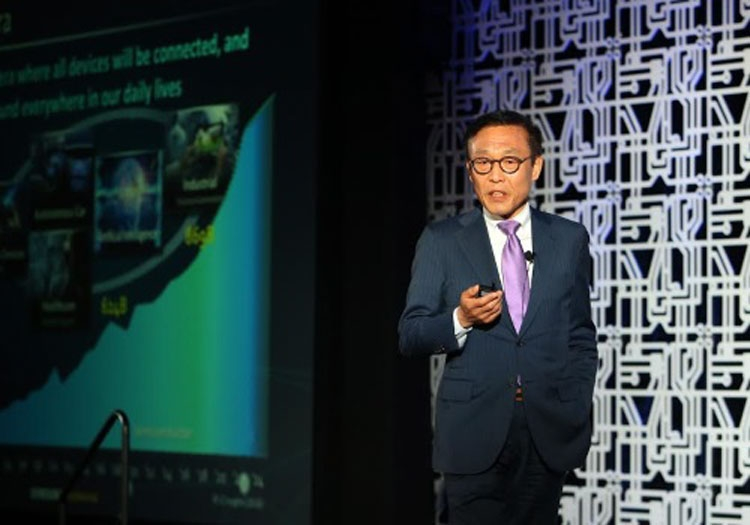 Президент полупроводникового бизнеса Samsung Ким Ки-нам (Kim Ki-nam) (Фото EE Times)
