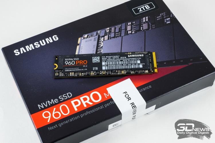 Самый быстрый потребительский NVMe-накопитель
