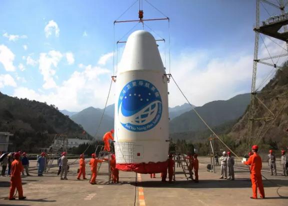 """Китай запустил крупнейшую спутниковую систему навигации"""""""