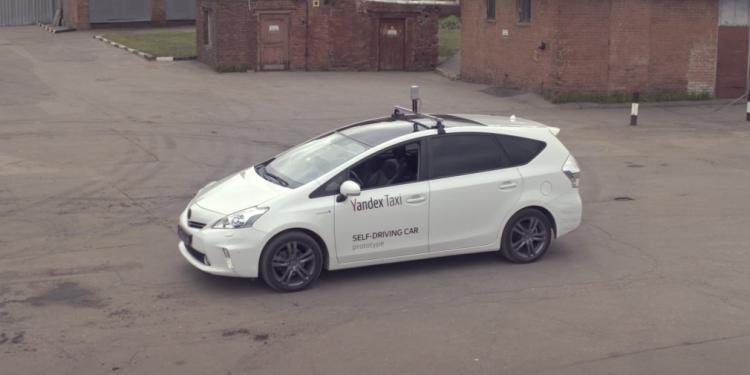 """«Яндекс» продемонстрировал видео с тестированием прототипа беспилотного автомобиля"""""""