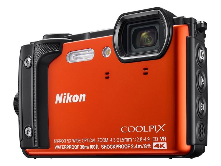«Внедорожная» фотокамера Nikon Coolpix W300 поддерживает 4К-видеозапись - «Новости сети»