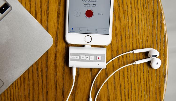 Computex 2017: аксессуар PhotoFast Call Recorder поможет записать разговоры на iPhone - «Новости сети»