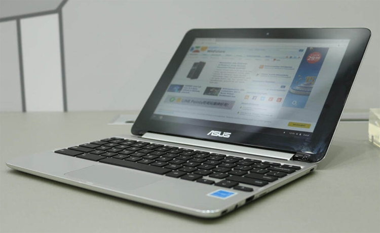 "Computex 2017: ноутбук-трансформер ASUS Chromebook Flip C101"""