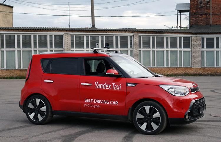 «Яндекс» продемонстрировал видео тестирования своего беспилотного такси