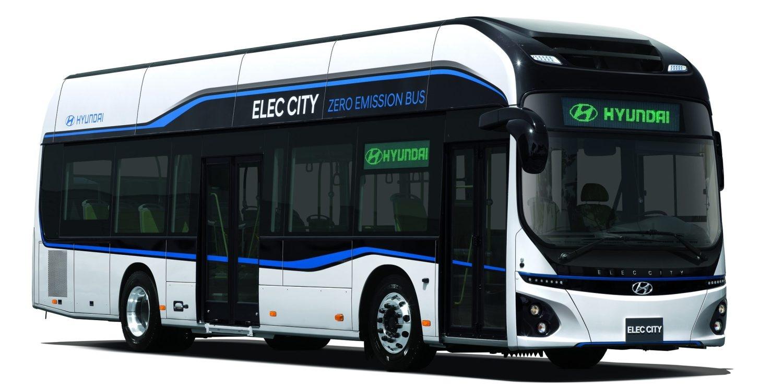 Электроавтобус Hyundai Elec City появится на дорогах в 2018 году