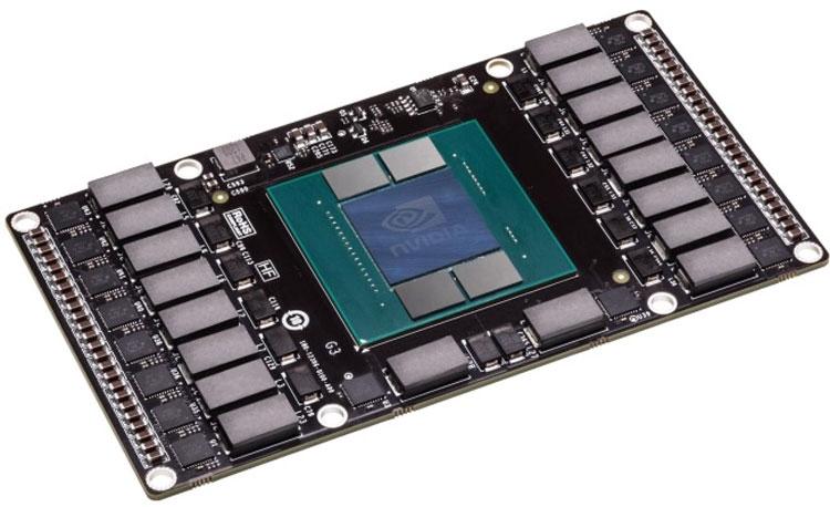 Ускоритель NVIDIA Tesla с памятью HBM/HBM2