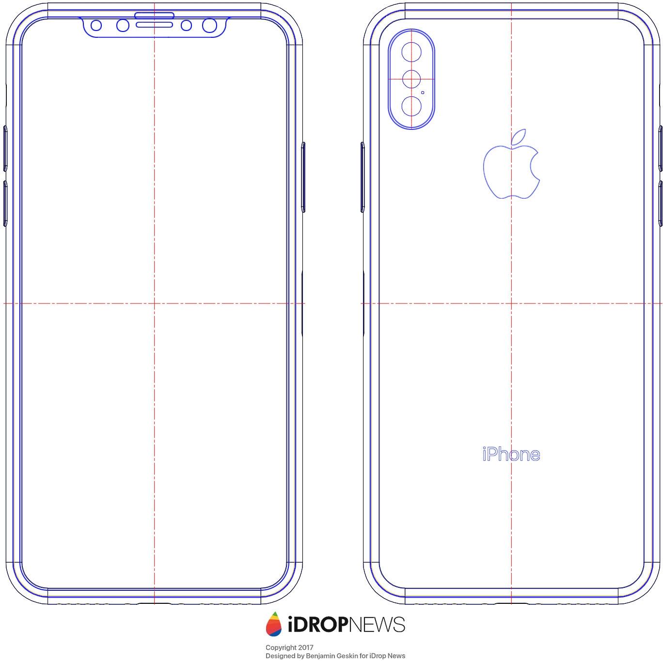 Раскрыты детали телефона iPhone 8