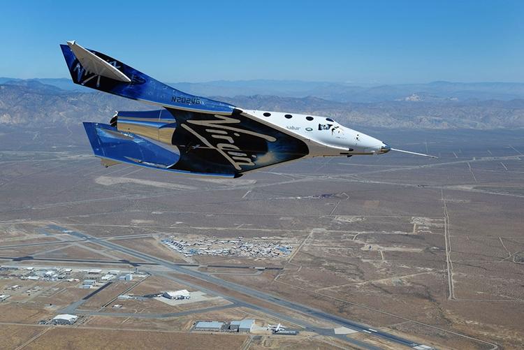 Virgin Galactic провела очередные испытания корабля для космических турполётов