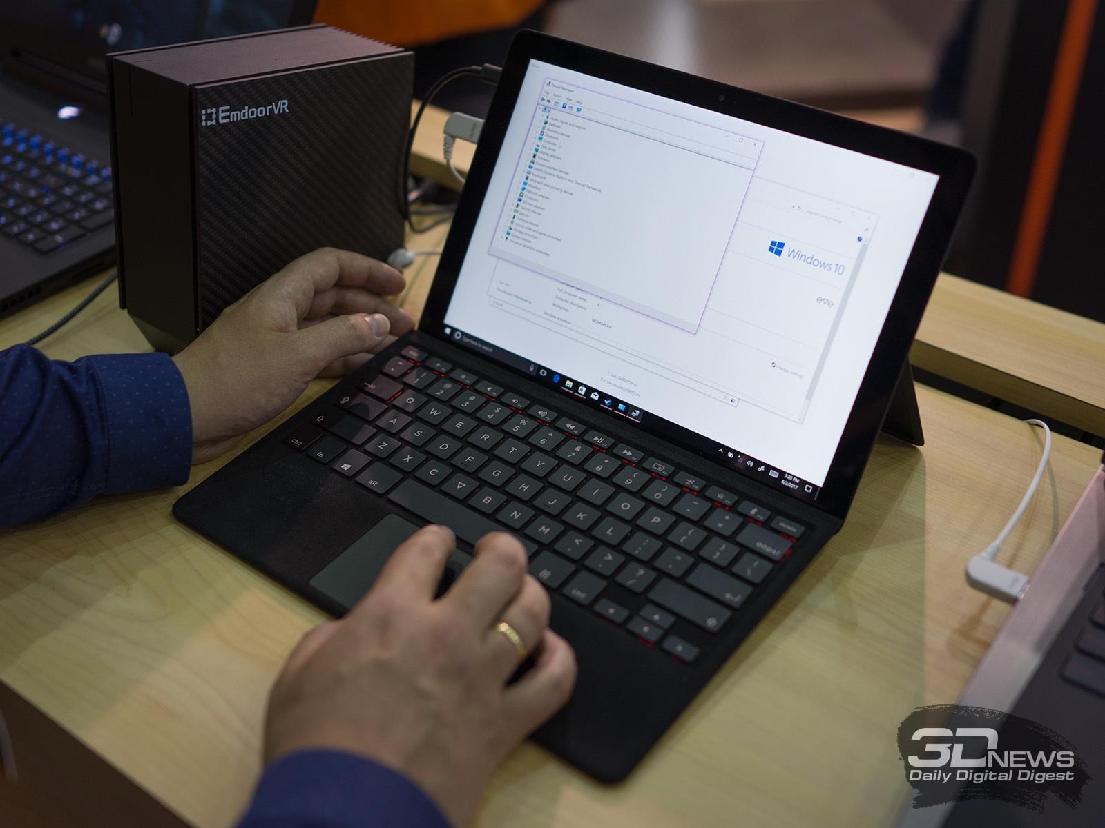 Новая статья: Computex 2017. Знакомство с ноутбуками Acer, Samsung и Eve V в роли темной лошадки