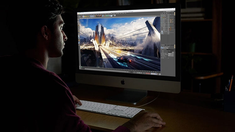 new 2017 imac pro editing - Apple представила обновлённые iMac и рабочую станцию iMac Pro