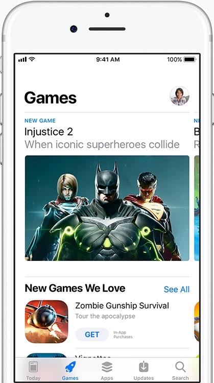 У игр появился собственный отдельный дом внутри App Store