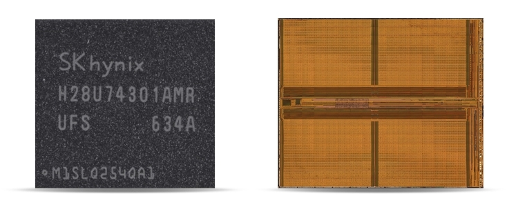 36-cлойная память SK Hynix 3D NAND (3D-V2). Иллюстрация TechInsights