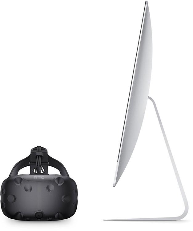 Новые программные и аппаратные возможности Mac приносят поддержку VR