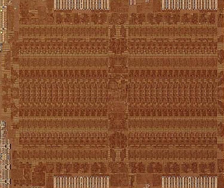Снимок кристалла AMD Fiji (Radeon R9 Fury X)