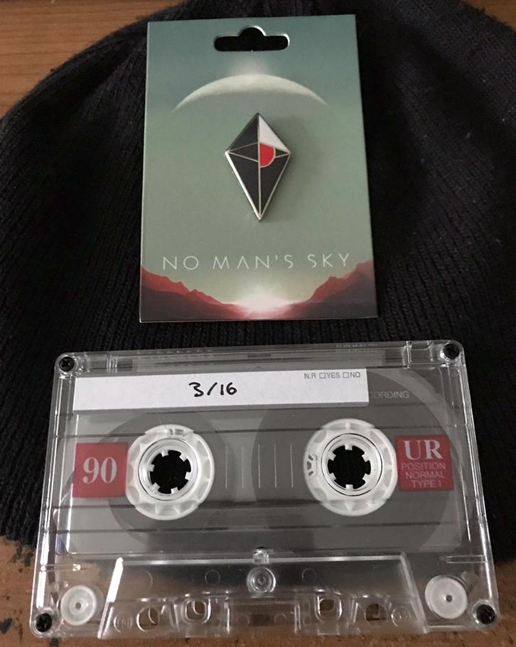 Разработчики No Man's Sky разослали игрокам загадочные аудиокассеты