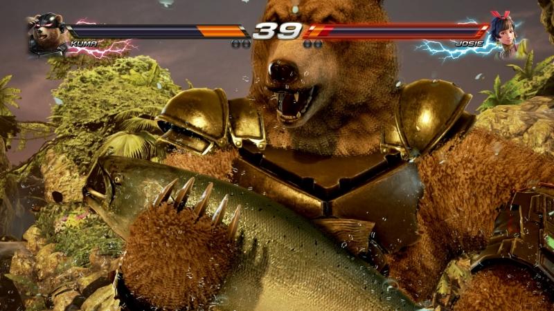 Медведь забивает человека огромной рыбой? Это норма