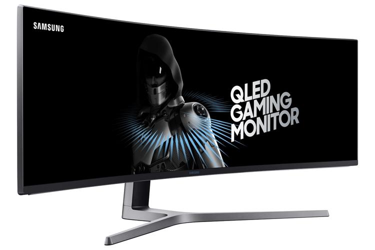 """Изогнутый 49-дюймовый QLED-монитор Samsung с поддержкой FreeSync 2"""""""