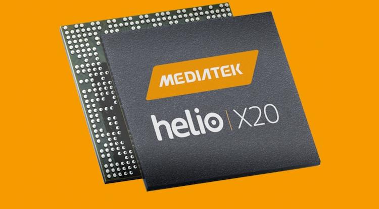 В бенчмарке замечен загадочный смартфон Lenovo с процессором Helio X20